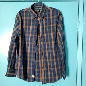 U.S. Polo Assn. Men's Woven Shirt - Plaid